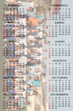 Calendario Plantilla